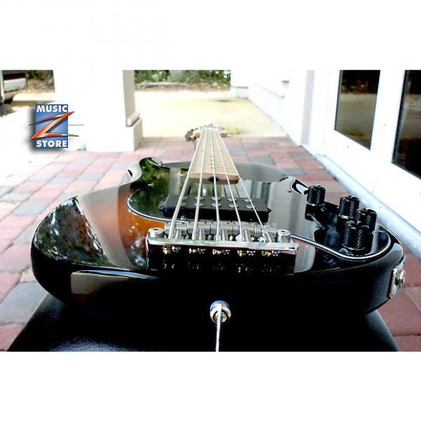 Custom Ernie Ball Music Man StingRay SR 5 H Vintage Sunburst. Made in USA, Original Hardshell case! NEW #1 image