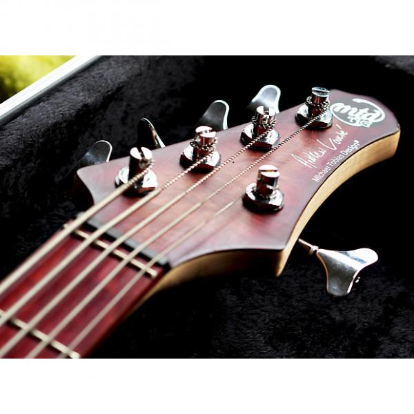 Custom MTD AG-5 Andrew Gouge model with USA upgraded Preamp 5 String bass #1 image