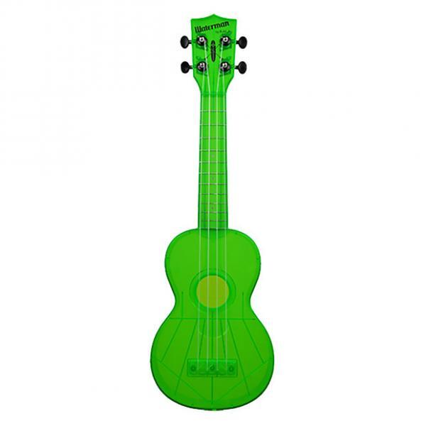 Custom Kala KA-SWF-GN Makala Waterman Ukulele - Flourescent Green #1 image