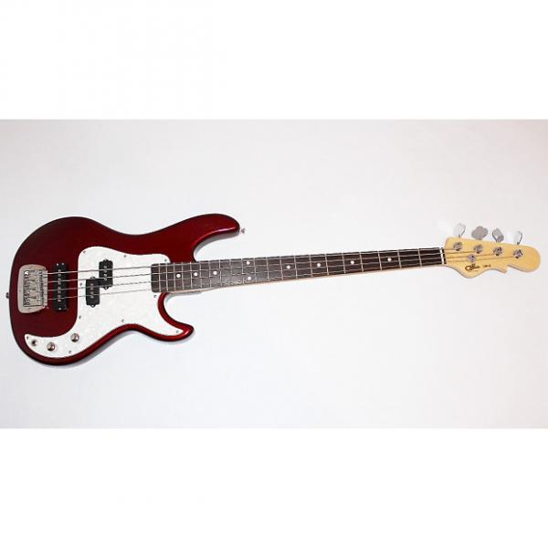 Custom G&L Tribute SB-2 4-String Red Electric Bass Guitar By Leo Fender w/ Gigbag #1 image