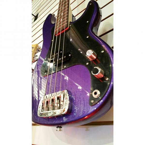 "Custom G&L  LB-100 2015 Royal Purple Metallic ""Empress"" wood body just under 7 lbs. #1 image"