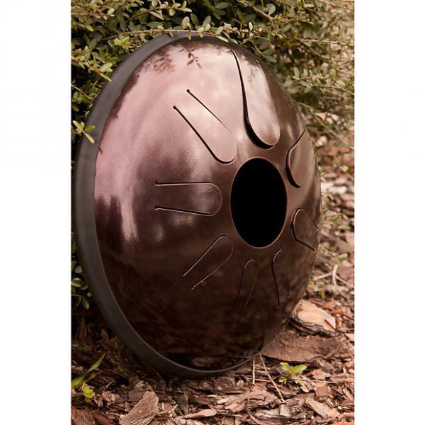 Custom Idiopan Domina 12-Inch Tunable Steel Tongue Drum with Pickup - Dark Cherry W/Malletts #1 image