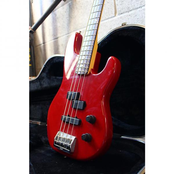 Custom Fender USA Precision Plus Deluxe Lipstick Red #1 image