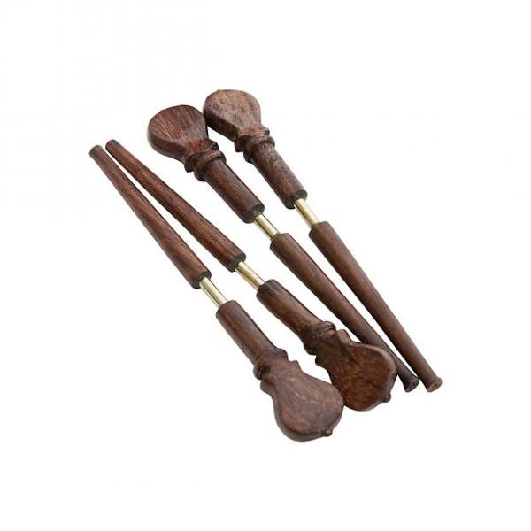 Custom Roosebeck Lute Sheesham Pegs w/ Metal Shafts 4-Pack #1 image