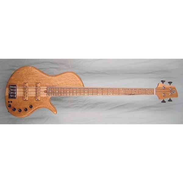 Custom Elrick Handcarved e-volution 4-String Bass Guitar, Master Series, Birdseye Maple Fingerboad #1 image