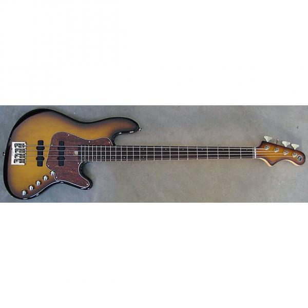 Custom Elrick Expat Handmade New Jazz Standard 4-String Bass Guitar, Tobacco Sunburst Finish, #1 image