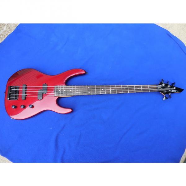 Custom Squire 5 String  Bass MIK Korea #1 image