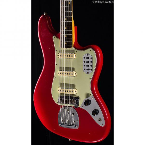 Custom Fender Custom Shop Bass VI Journeyman Relic Aged Dakota Red (769) #1 image