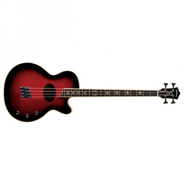 Custom Washburn AB40 Acoustic Bass Spruce Top Mahogany Back and Sides - B Stock #1 image