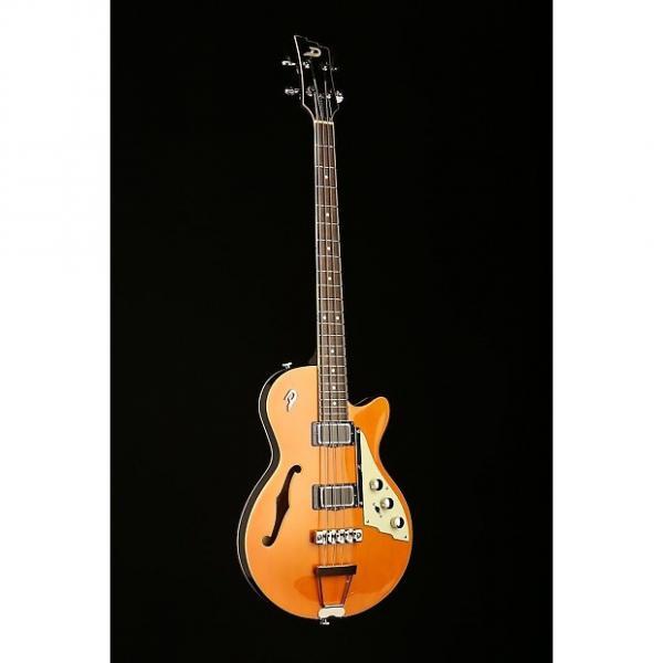 Custom Duesenberg Starplayer Bass Trans Orange #1 image