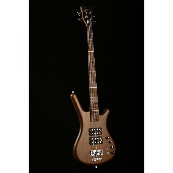 Custom Warwick German Pro Series Corvette 4 Double Buck Active Antique Tobacco with gigbag #1 image