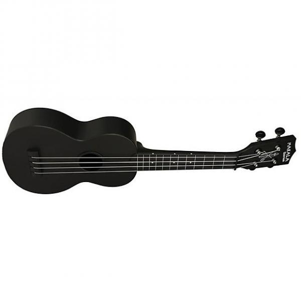 Custom Kala Makala MK-SWB Waterman Soprano Ukulele - Black #1 image