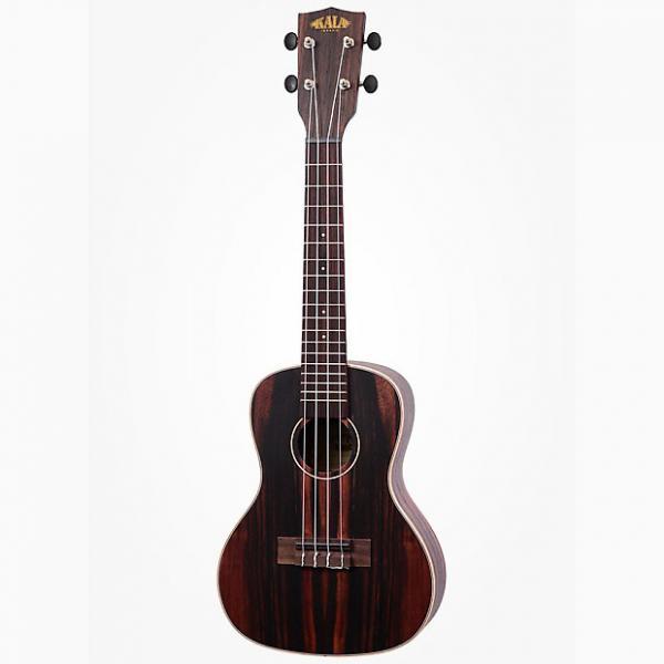 Custom Kala Ebony Concert Ukulele Right-Hand Uke w/ Rosewood Fingerboard Aquila Strings #1 image