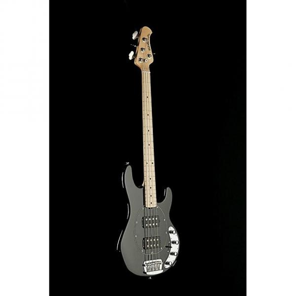 Custom Musicman Stingray 4 HH, Black, Mple, Blk Pg #1 image
