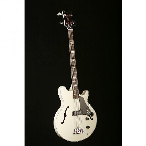 Custom Epiphone Jack Casady Bass Alpine White Limited Edition #1 image