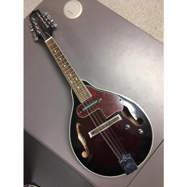 Custom Ibanez M510E-DVS Mandolin 00's Dark Mahogany #1 image