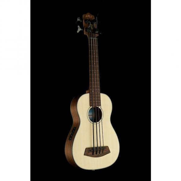 Custom Kala U-Bass. Spruce Top #1 image