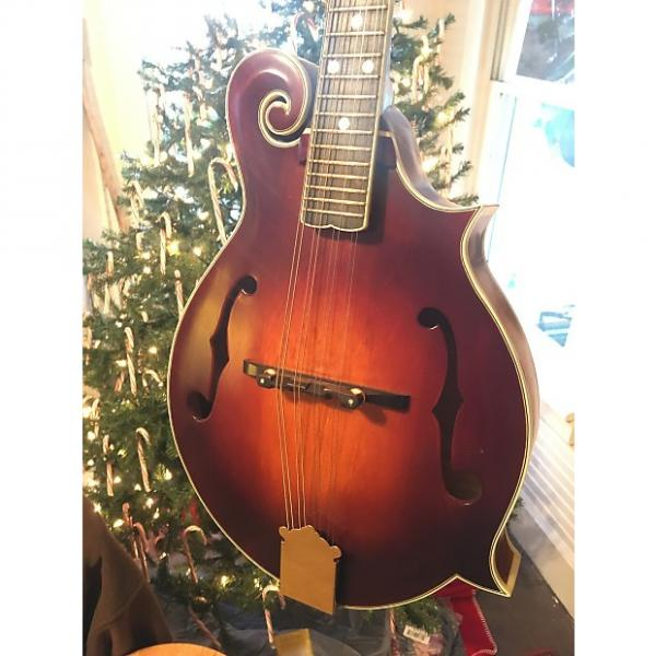 Custom Arnold Cross Custom F style mandolin 2016 Antique Vintage Sunburst #1 image
