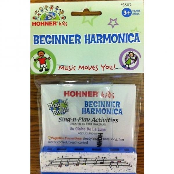 Custom Hohner Kids Beginner Harmonica, S502 #1 image