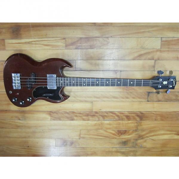 Custom Gibson EB-0 Bass 1968 Mahogany #1 image