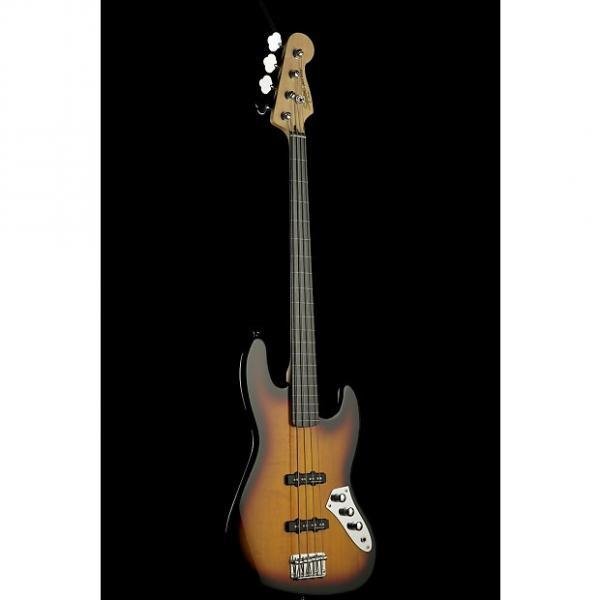 Custom Squier Vintage Modified Jazz Bass Fretless #1 image