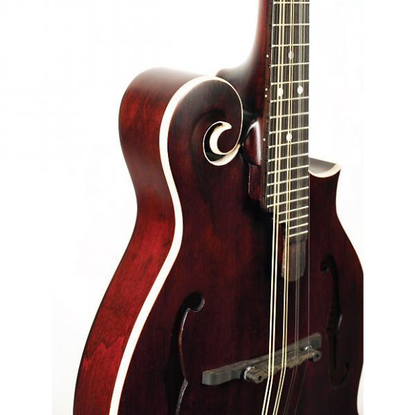 Custom Morgan Monroe MM-300WR F-Style Mandolin Wine Red #1 image