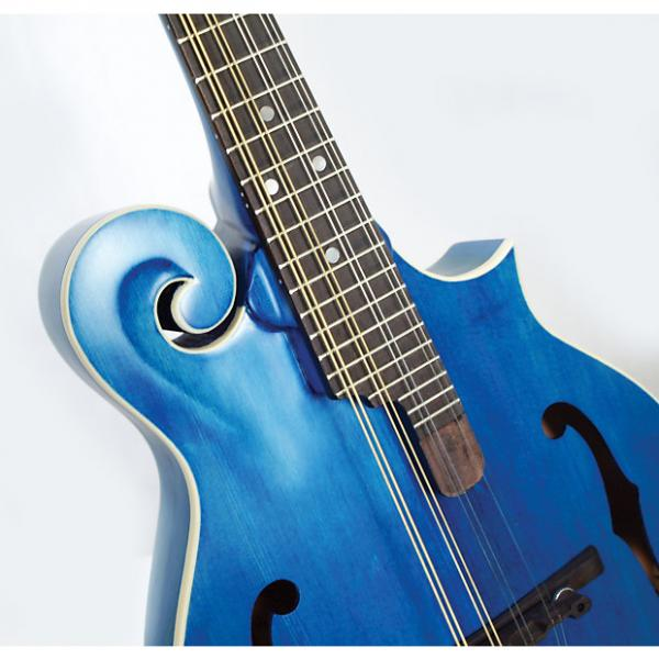 Custom Morgan Monroe MM-300BL F-Style Mandolin Blue #1 image