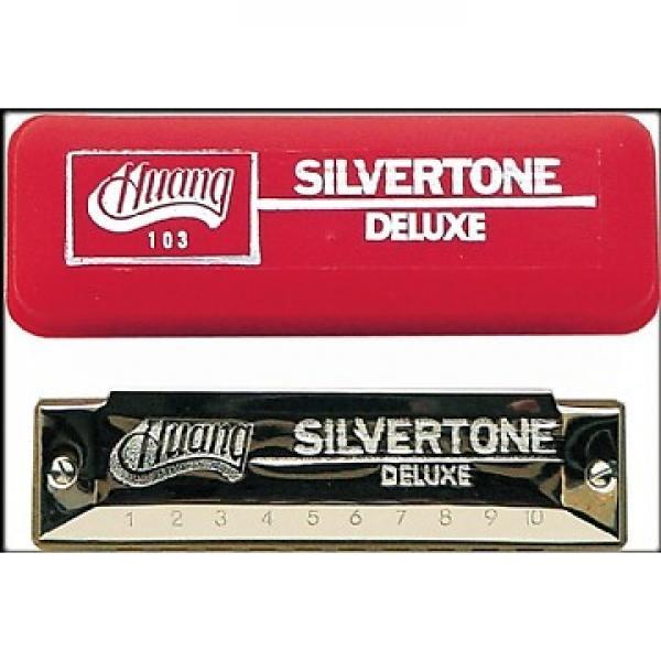 Custom Huang Silvertone Deluxe Harmonica, Key of D #1 image