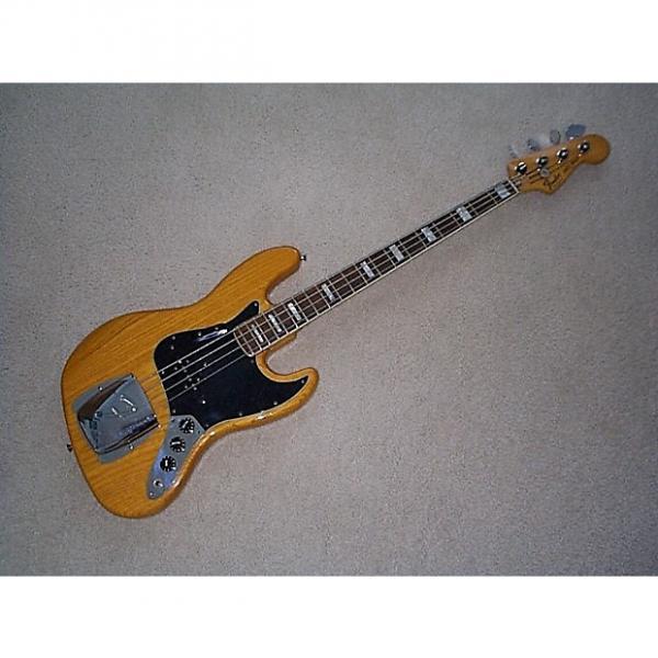 Custom Fender Jazz bass 1978 Natural/Rosewood #1 image