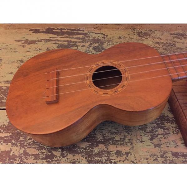 Custom 1920s Vintage Jonah Kumalae Style 2 Soprano Ukulele - Solid Koa #1 image