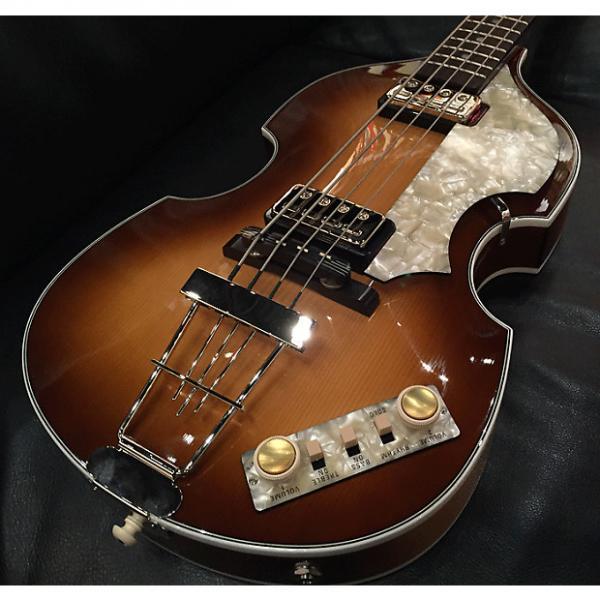Custom Hofner 500/1 Violin Beatle Bass 2016 2 Tone Sunburst #1 image