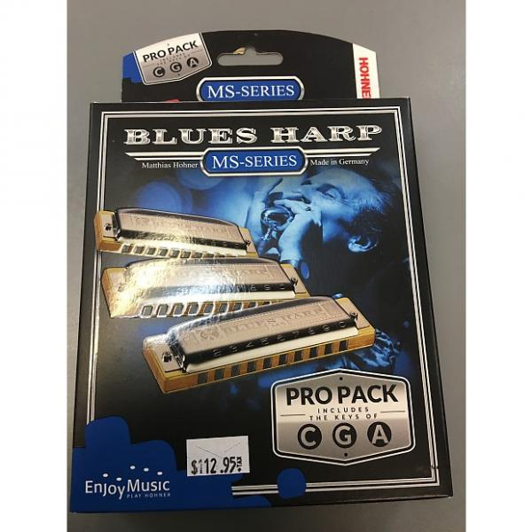 Custom Hohnor Blues Harp Harmonica Pack Ms-series #1 image