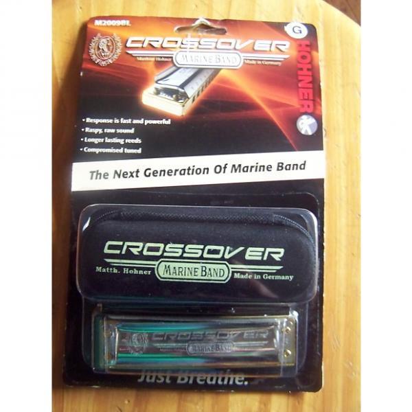 Custom Hohner M2009BL Crossover Harmonica Key of G #1 image