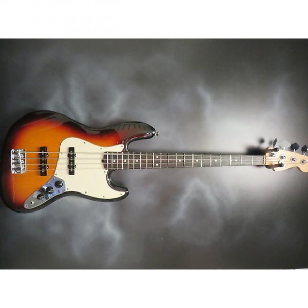 Custom Fender  American Jazz Bass  2005 Sunburst #1 image