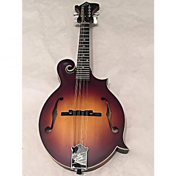 Custom The Loar LM-590-MS Contemporary Series F-Style Mandolin All Solid Hand Carved Satin Tobacco Sunburst #1 image
