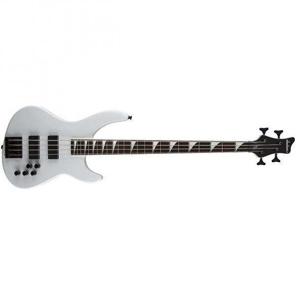 Custom Jackson Pro Series Chris Beattie Sig Bass Snow White 2919504368 #1 image