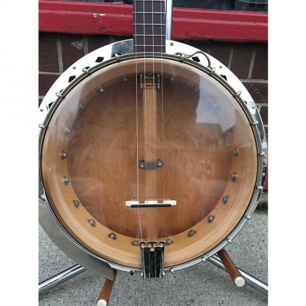 Custom H.A. Weymann & Son Tenor Banjo 1920's Blonde #1 image