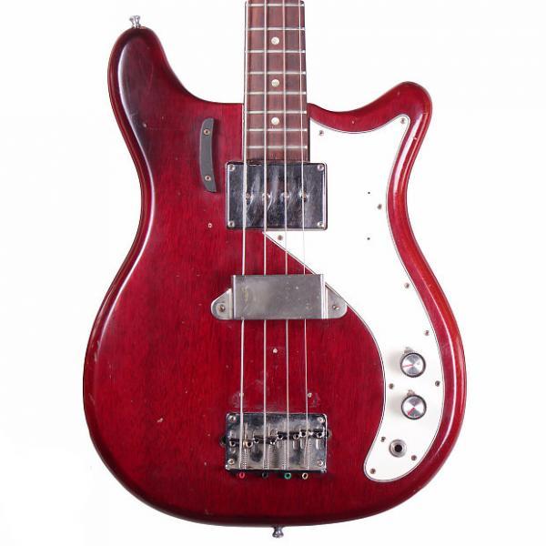Custom 1966 Epiphone Newport Bass - Cherry #1 image