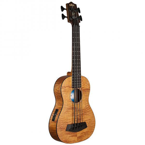 Custom Kala UBASS-EM-FS Exotic Mahogany U-Bass #1 image