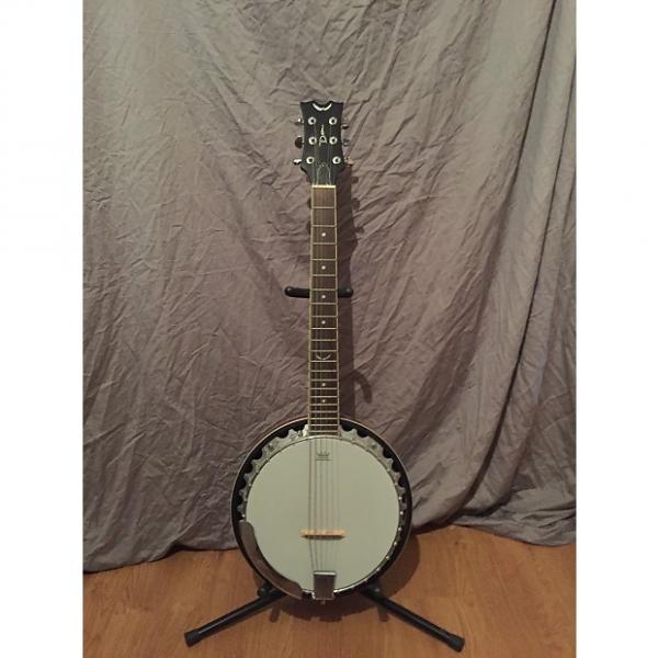 Custom Dean Backwoods 6-String Banjo late 2000s Natural #1 image