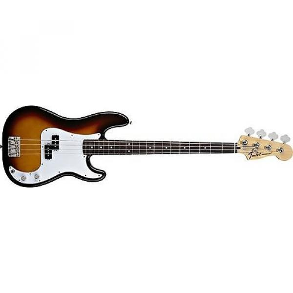 Custom Fender Standard Precision Bass (Brown Sunburst, Rosewood Fingerboard) #1 image