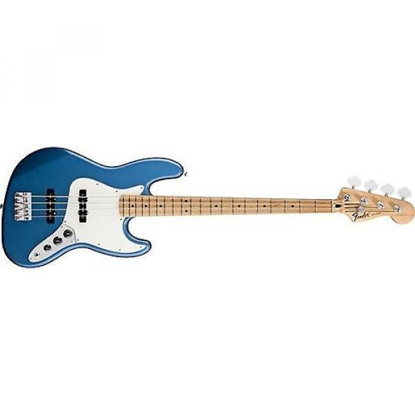 Custom Fender Standard Jazz Bass (Lake Placid Blue, Maple Fingerboard) #1 image