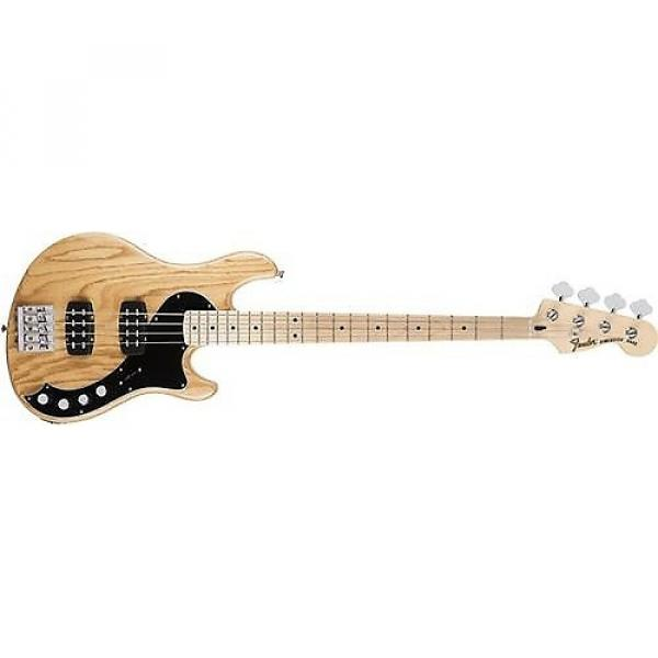 Custom Fender Deluxe Active Dimension Bass Guitar (Natural, Maple Fingerboard) #1 image