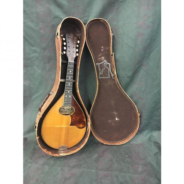 Custom Vintage Bruno imported Mandolin for Restoration/parts #1 image