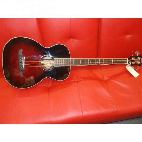 Custom Fender T Bucket Bass Flame Maple Trans Cherry Sunburst 0968081061 #1 image