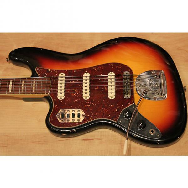 Custom Fender Custom Shop Masterbuilt Left Handed 60′s Relic Bass VI 2014 3-Tone Sunburst #1 image