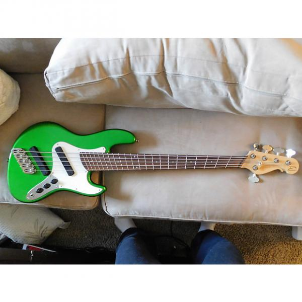 Custom Dingwall Super J 5 with Super Fatty Pickups [Fanned Fret / Multiscale Bass] #1 image