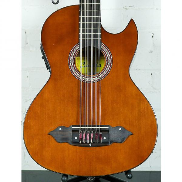 Custom Lucida LG-BS1-E Mexican Bajo Sexto 12-String Acoustic-Electric Guitar #1 image