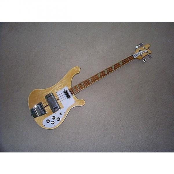 Custom Rickenbacher 4001 bass 1974 Maplglo #1 image