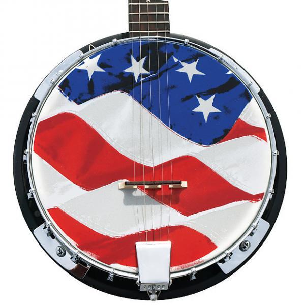Custom Morgan Monroe - Banjo Old Glory - Top quality you won't believe the sound - model: USA-OGB #1 image